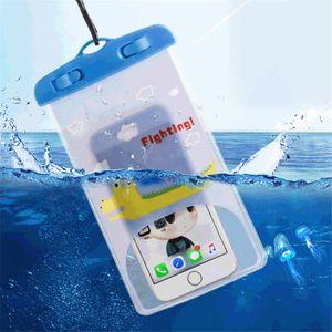 Creative Cartoon Mobile Phone Waterproof Bag Colorful Animal PVC Seal Waterproof Bag Camera Waterproof Phone Bag
