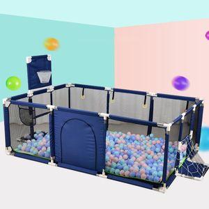 Baby Playpen للأطفال playpen for baby سياج الاطفال الكرة حفرة بركة ملعب حمام سباحة كيد داخلي كرة القدم المجال LJ200819