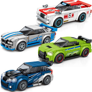 Sembo Block Speed Champions Racing Car Model Building Blocks Technic City Vehicle Super Racers Sports Construction Toys Friends