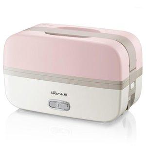 Рисовые плиты Портативная коробка с из нержавеющей стали Liner 220V Steamer Puber Home Office Warmer Crispe1