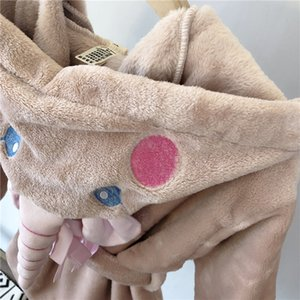 Polyester Korean children's clothing, children's baby home clothes, cute soft sleeping bathrobe, female baby bathrobe