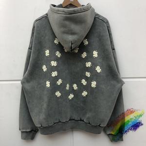 Завышение Тяжелая ткань Толстовка Мужчины Женщины Лучшие качества Vintage Толстовки Пуловеры
