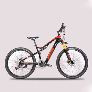 27.5-inch electric-powered soft-tail mountain bike Front and rear double shock absorbers 48V hidden lithium battery ebike