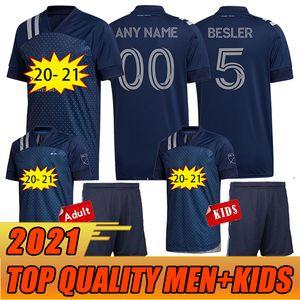 2020 Sporting Kansas City Футбол трикотажные изделия 20 21 MLS PULIDO 9 BUSIO 13 Russell 7 Gerso 12 Kinda 15 Джерси футбольные рубашки