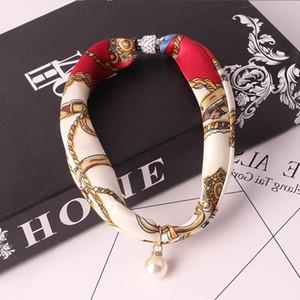 RUNMEIFA Declaração de colar de jóias Scarf Mulheres Bohemia Lenço Foulard Femme Lojas de Acessórios Hijab