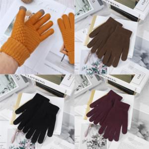 aw44i Genuine Khaki Maylofuer Sheepskin Leather glove gloves lambskin bow grade touch screen grey high gloves sheepskin high