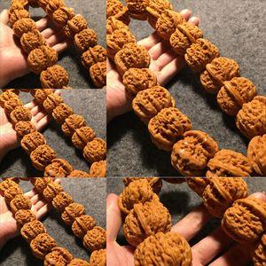 SZD Machine Brush Coated White Lion Big Bead Braceletbraclet Bracelethand Удерживается орех Ch_dhgate Розарий Будда Браслет из бисера маленький