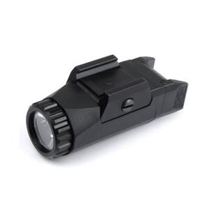 التكتيكية APL ضوء ثابت / حظية / ستروب مصباح يدوي APL-G3 400 لومينز LED الضوء الأبيض الأسود