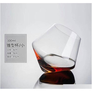 2pcs set Wine Decanter Tumbler Crystal Glass Red Wine Whiskey Lead-free Thickened Liquor Cup Foreign Wine Cockt jllggT lucky2005