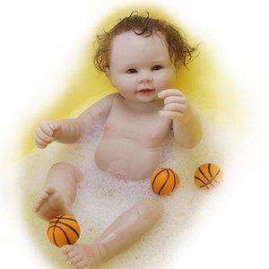 50cm Reborn premie baby newborn dollfull silicone real soft touch bathe baby collectible art doll for children