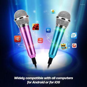 ANKNDO Mini Microphone For Phone 3.5mm Jack Micro Phone Mini Audio Mic for Computer Laptop Mobile Karaoke Singer1