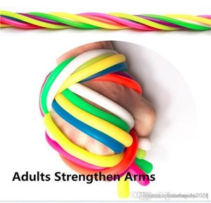 Neon Slings Fidget toys TPR Soft Anti Stress Rope Toys Rope Flexible Glue Multicolor Noodle Ropes The Mood Hyperflex Stretchy Toys