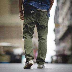 MADEN Pantaloni tattici militari vintage di Maden Green Verde Verde Verde Verde Verde Panette Pantaloni casual in cotone Uomo LJ201221