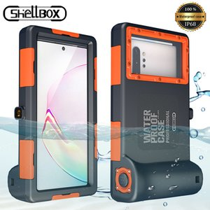 Diving Phone For Samsung Galaxy S9 S8 S10 Plus Note 8 9 Note10 10+ PC Cover 15M Waterproof Depth Coque Case