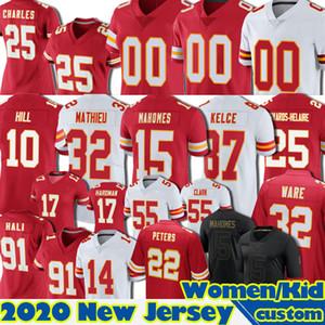 15 Patrick Mahomes Jersey 10 Tyreek Hill Custom Travis Kelce Tyrann Mathieu Clyde Edwards-Heraire 49 Daniel Sorensen Football Chris Jones