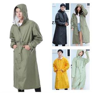 Long Thin Raincoat Men Women Female Ponchos Waterproof Pullover Breathable Rain Coat Chubasquero Mujer Raingear 201202