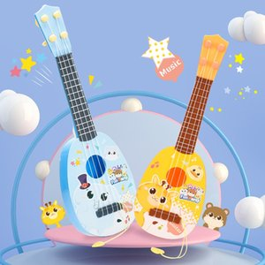 Big Size 4 String Guitar Toy Kid Baby Early Education Toy Kid Cute Christmas Gift 3 styles