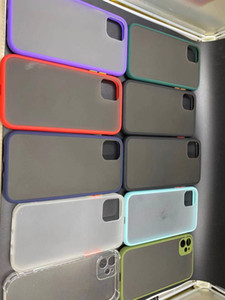Funda telefónica transparente a prueba de golpes para iPhone11 Soft Gel TPU Case Clear Back Cover for