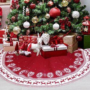 Feliz de árboles de Navidad Faldas con alfombra de manta Nuevo Año Nuevo Decoración de Navidad decoraciones de Navidad para el árbol de árbol Skirt1