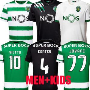 Sporting CP 20 21 Jerseys de football Lisboa Troisième Lisbonne Lisbonne Vietto Coates Acuna Accueil 2020 2021 Sporting Clube de football maillot Maillots