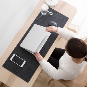 Büyük XXL Ofis Bilgisayar Masası Mat Masa Klavye Büyük Mouse Pad Yün Keçe Dizüstü Yastık Masası Kaymaz Mat Gamer Mousepad Mat Keçe