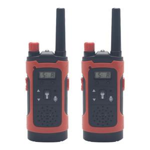 Mini 80-100M Çocuk Walkie Talkies Oyuncak Çocuk Elektronik Radyo Ses Interkom Oyuncak Açık LCD Ekran Walkie Talkies