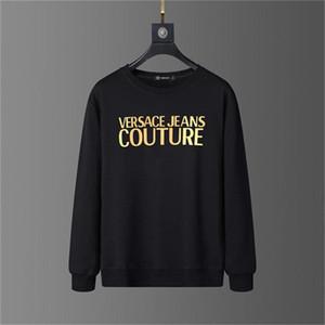 베르사체 2020Top 품질 남성 의류 디자이너 스웨터 긴 소매 크기