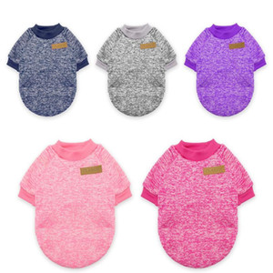 Warm Dog Cat Clothing Autumn Winter Pet Clothes Sweater For Small Dogs Cats Chihuahua Pug Yorkies Kitten Outfit Cat Coat bbybbC
