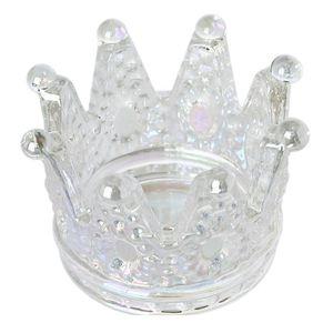 1pc Glass Clear Nail Dish Crown Acrylic Nail Cup Diy Crystal Acrylic Powder Liquid Brush Holder Equipment Nail Art Too qylCOf