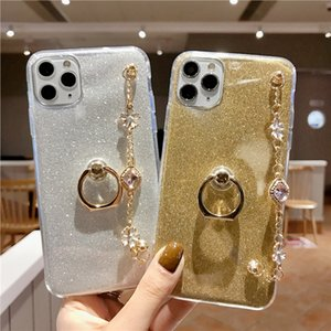 Phone For Samsung Galaxy S3 S4 S5 S6 S7 S8 S9 S10E S10 5G Edge Plus Lite Diamond Luxury Bracelet Lanyard Case Cover