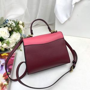 mujeres del estilo nuevo de la manera del bordado retro bolsas hechas a mano de los bolsos del patrón de flor de lana ganchillo monederos de cuero genuino bolso crossbody Bolsos