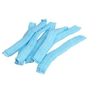 200 Stück Einweg-Non-Woven-Perücke-Haar Duschhaube Non-Woven Plissee Dust Cap Hotel Supplies