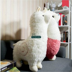 Dorimytrader 31''   80cm Lovely Toy Large Stuffed Soft Plush Animal Sheep Alpaca Doll 3 Colors Nice Kids Gift Free Shipping DS35N
