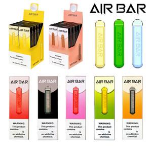 Air Bar Одноразовые E-Cigarettes Vape Pen Pod Устройство Комплект 1,8 мл 380 мАч Батарея 500 Загонией Предварительно заполненные пары Стартер Аэробар Электронные сигареты