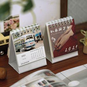 16 Design 2020 2021 Mini Van Gogh Oil Painting Desk Calendar Little Prince Calendar Schedule Annual Agenda Organizer Office bbyTxY sweet07