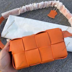 Bolsa de luxo moda mulheres messenger bag lazer inclinado ombro saco de ombro temperamento xadrez tecido de vaca de couro transversal newbag999