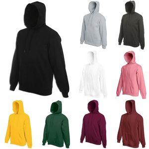 Owlprincess MS Couture Couleur à capuche Couleur pure en automne à manches longues Ajouter la laine Pullovers en polaire Y200610