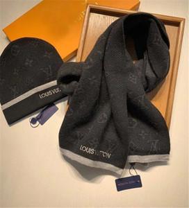 Şapka ve Fular Klasik ekose Atkılar ayarlar 5555 kış Sıcak Beanies Örme erkekler için Kadın Şapka Eşarp Seti Katı Pom pom HatScarf Setleri