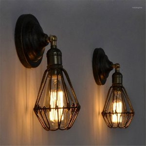 1pc Vintage E27 LED Lampada da parete LED per interni Bar a barre d'esterno Party Decorative Light Light Creative Aisle Wall-Motelight Aisle (senza lampadina) 1