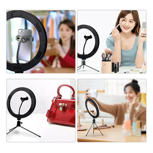 RGB Ring Light Tripod LED Ring Light Selfie With Bracket 10 Inch RGB Fill Suitable For YouTube Photography