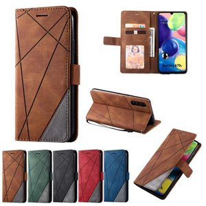 Leather Phone Case For Samsung Galaxy A71 A51 5g A20e A10 A20 A30 A50 A70s A716 A516 A5 2017 A6 A7 Q jllQxr