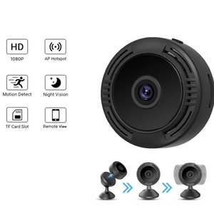 F8 A9 V380 SQ8 Wifi Mini Camera HD 1080P Smartphone APP Night Vision IP Home Security Video Cam DV Magnetic Holder Motion Detection Cameras