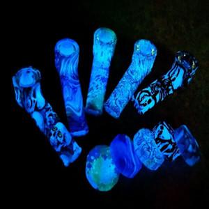 Люминесцентные Люминесцентные трубки стеклянной чаши трубы силиконовые силиконовые трубы защита окружающей среды 2021 новые стили DHL FREE