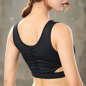 2020 Mujeres Professional Deporte Sujetador Fitness Yoga Correr Chaleco Underwear Top Ropa interior transpirable Quick Seck Sin Wire-Rim Bras1