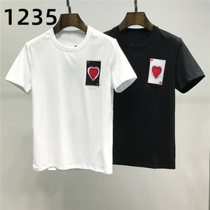 Sıcak Satmak Rahat T-shirt erkek Spor T-shirt erkek Lüks T-shirt erkek Crossfit Yaz Üst Boyutu M-XXL