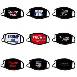 Keep America tren Cara gran máscara del oído Impreso Todos los EE.UU. El 2 bg Banderas Presidencial de votación Estrellas Mascarilla Colgando Máscaras en el extranjero 2 Trump Txcf