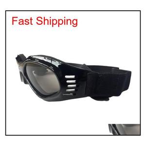 Folding Pet Glasses Dog Safety Goggles Windproof Sun-proof Sunglasses Protective Glasses Outdoor Eyeglasses Dog Dec qylqVR yh_pack