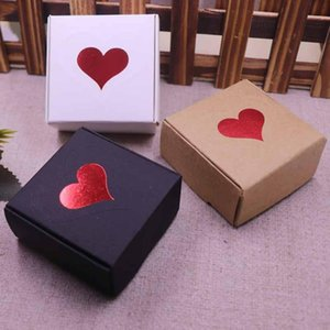 New DIY Heart Gift Box multi styles gift candy packing box DIY handmade with love cardboard gift package & jewelry