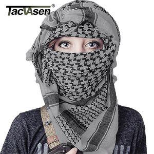 Tactical Mask Women Cotton Camouflage Kopf TACVASEN Männer CX200819 Schal Wüste Schal Gesicht Militär Paintball Keffiyeh Arab Arabisch Iuipb RSBA