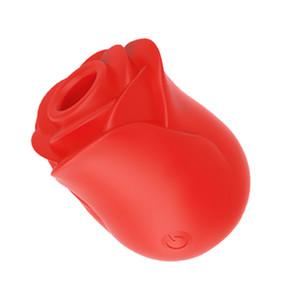 Nouveau vibrateur lécher la langue pour femmes intities marchandises mamelon sucker léchage orale clitoris stimulation rose comme des jouets sexuels adultes